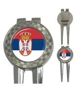 Serbia Serbian Flag 3-in-1 Golf Divot - $8.46
