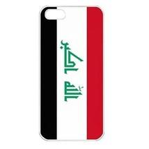 Iraq Iraqi Flag Seamless White Case for iphone 5S - $14.07