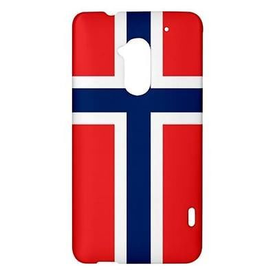 Norway Norwegian Flag Hardshell Case for HTC One Max T6