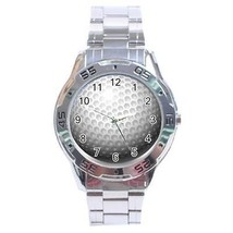 Golf Ball Stainless Steel Analogue Watch - $9.39