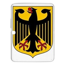 """Germany Coat of Arms Hardshell Case for Samsung Galaxy Tab 3 10.1"""" P5200 - $18.74"""