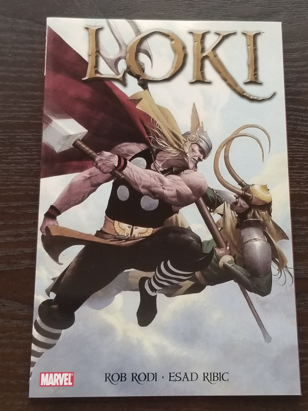 Loki Softcover Graphic Novel