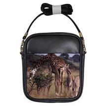 Giraffe Family Girls Sling Bag - $14.07