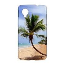 Tropical Island Palm Tree Beach Sand Ocean Hardshell Case for Google Nexus 5 - $14.07