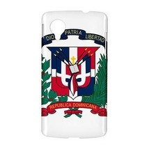 Dominican Republic Coat of Arms Hardshell Case for Google Nexus 5 - $14.07
