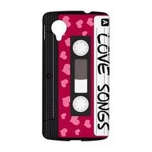 80s Love Songs Cassette Tape Hardshell Case for Google Nexus 5 - $14.07
