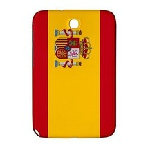 Spain Spanish Flag Hardshell Case for Samsung Galaxy Note 8.0 N5100 N5110 - $17.81