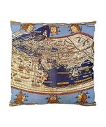 Claudius Ptolemy The World Two-Sided Cushion Pillow Case - $14.07