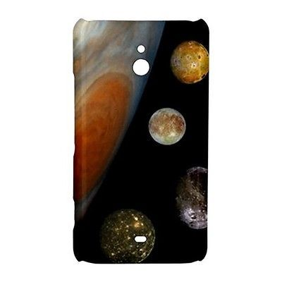 Moons of Jupiter Outer Space Hardshell Case for Nokia Lumia 1320