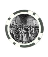 Knights Templar Freemason Poker Chip Card Guard - $3.78
