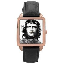Che Guevara Rose Gold Leather Watch - $11.26