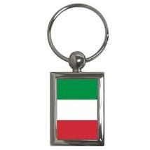 Italy Flag Rectangular Keychain Italian - $5.65