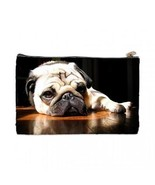 Pug Puppy Dog 2 Sided Cosmetic Bag Medium Size - $8.46