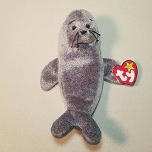 "TY Beanie Babies Slippery the Seal 7"" Long 1998 - $9.59"