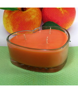 Apricot and Cream PURE SOY Heart Container Candle 16 oz. - $12.50