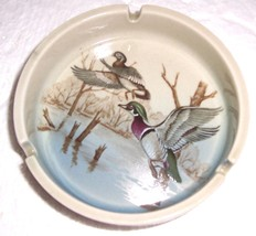 Vintage Otagiri Mallard Birds Collectible Large Ashtray - $36.27