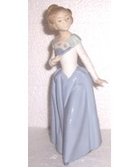"Vintage Signed  Daisa 1983 NAO Lladro ""Young Women with Fan"" Porcelain F... - $770.05"