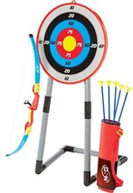 NSG Deluxe Bow and Arrow Set for Kids - Toy Archery Bow with Large Freestanding  - $51.26