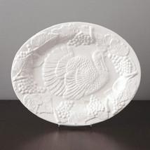 White Harvest  Holiday Turkey Serving Platter (... - $40.58
