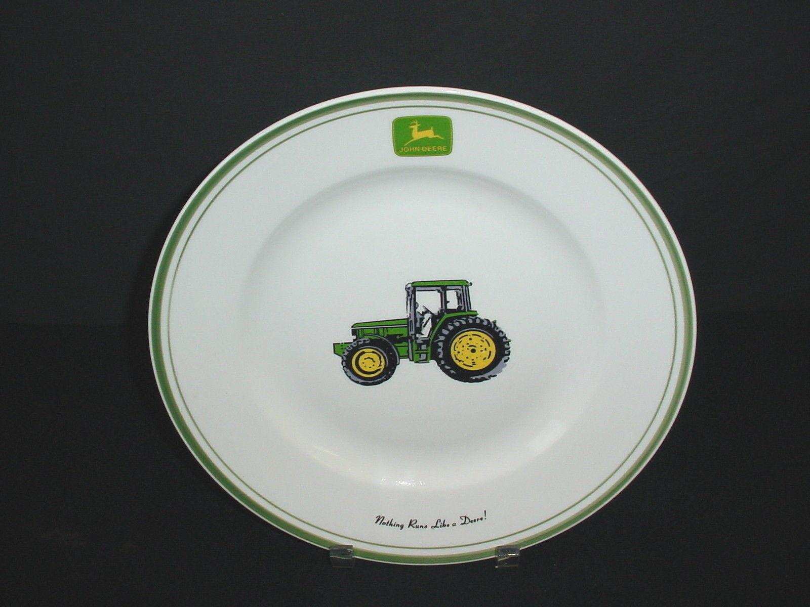 John Deere Tractor Nothing Runs Like a Deere Gibson Dinner ...