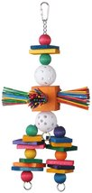 Super Bird Creations 15 by 6-1/2-Inch Willy Nilly Bird Toy, Large - £13.91 GBP