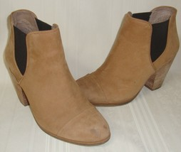 Vince Camuto Sand Soft Nubuck Leather Booties  Size  9.5 Style VC-HAME U... - £15.88 GBP