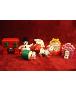 101 Dalmatians Christmas McDonald's Happy Meal Toys - Set of 7! - $14.99