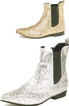 Beatles Style Glitter Boots - $79.00