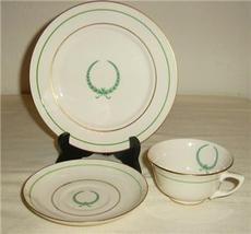 WARWICK 3 PIECE PLACE TEA SET  BONE CHINA - $31.66