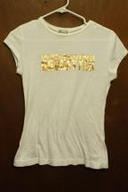 """Next Era White T-Shirt - Size Juniors Medium """"The World Needs More Brune... - $7.99"""