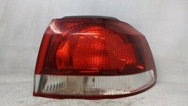 2010-2014 Volkswagen Golf Passenger Right Side Tail Light Taillight Oem ... - $48.77
