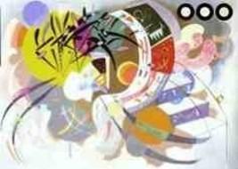 "WASSILY KANDINSKY ""DOMINANT CURVE"" POSTER ART P... - $62.80"