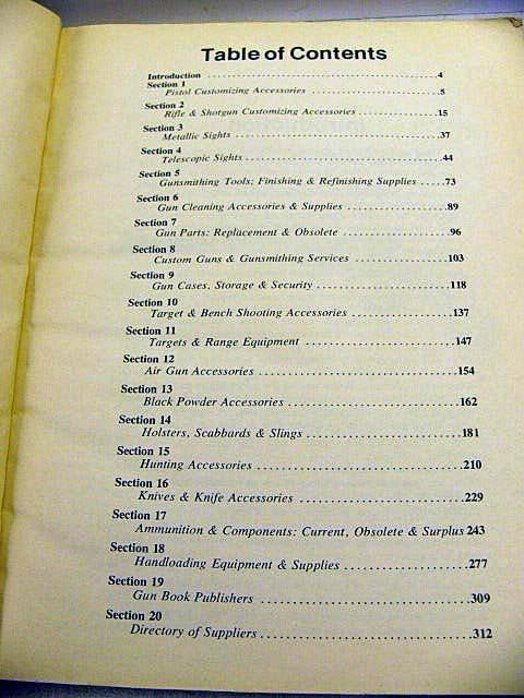 Gun Digest Book of Gun Accessories Services 1979