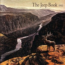 1995 JEEP BOOK sales brochure catalog US Wrangler Cherokee - $12.00