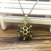 TURTLE AROMA DIFFUSER LOCKET NECKLACE >> COMBINED SHIPPING <<  (7121 - $6.68
