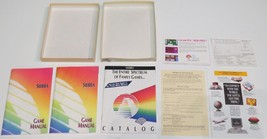 Sierra Lot PC Game: Big Box Manual Catalog Flyer Brochure TSN Network 25... - $17.10