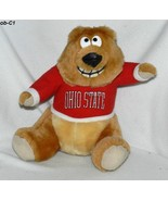 "Ohio State Buckeyes 8 ½"" Brown Plush Mascot Bear - $10.00"