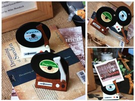Zakka Phonograph Magnets Message/Memo Holder/Cl... - $5.85