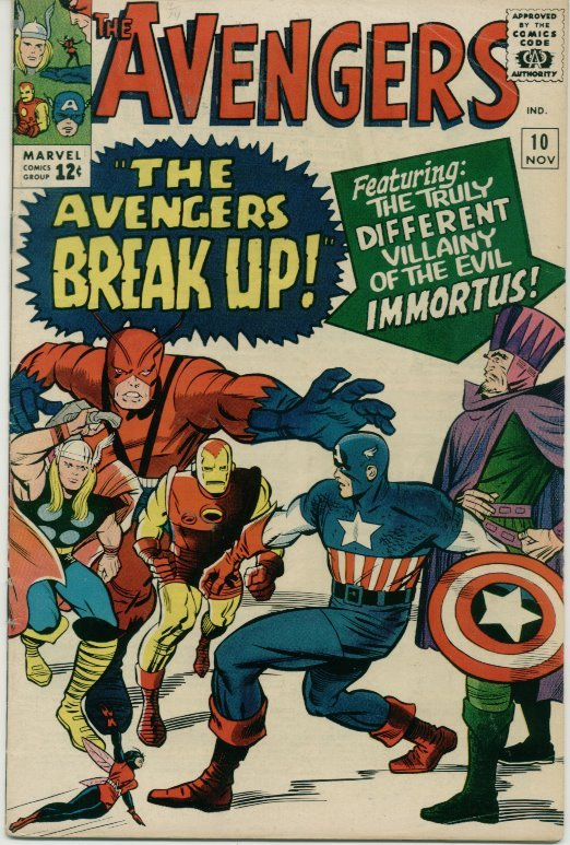 The Avengers (1963) # 10 FINE Condition Marvel Comics