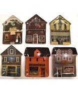 Charles Wysocki Folktown Collection Plates Hous... - $48.00