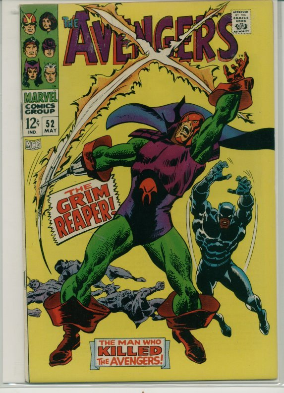 The Avengers (1963) # 52 VF Very Fine Condition From Mile High II Collection