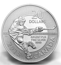 CANADA 2013 20$ PROOF SILVER COIN HOCKEY   15733-9 - $46.93