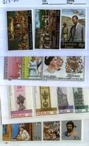 1977 SILVER JUBILEE 4 SETS MNH QUEEN 1434kk - $3.96
