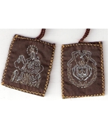 Brown Scapular of Mount Carmel - Large size - 060.0005 - $2.99