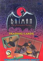 BATMAN THE ANIMATED SERIES 1993 TOPPS FACTORY SEALED TRADING CARD BOX ROBIN - $37.99