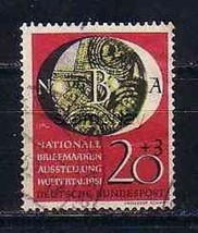 GERMANY 1951 USED B319 STAMP ON STAMP     6927RD - $19.80