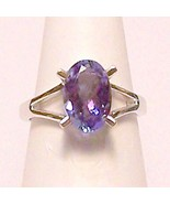 Genuine Tanzanite 14KW Gold Ring 2.6 ct Sz 7 MADE IN USA - $1,100.00