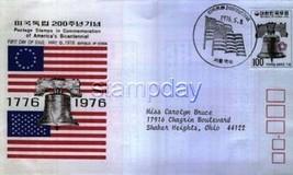KOREA USA  1976 SPECIAL FDC  3390MK - $4.95