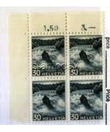 SWITZERLAND #320 CORNER BLOCK MNH 994kk - $43.16 CAD