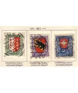 SWITZERLAND 1921 B18-20  USED       6742 - $28.71